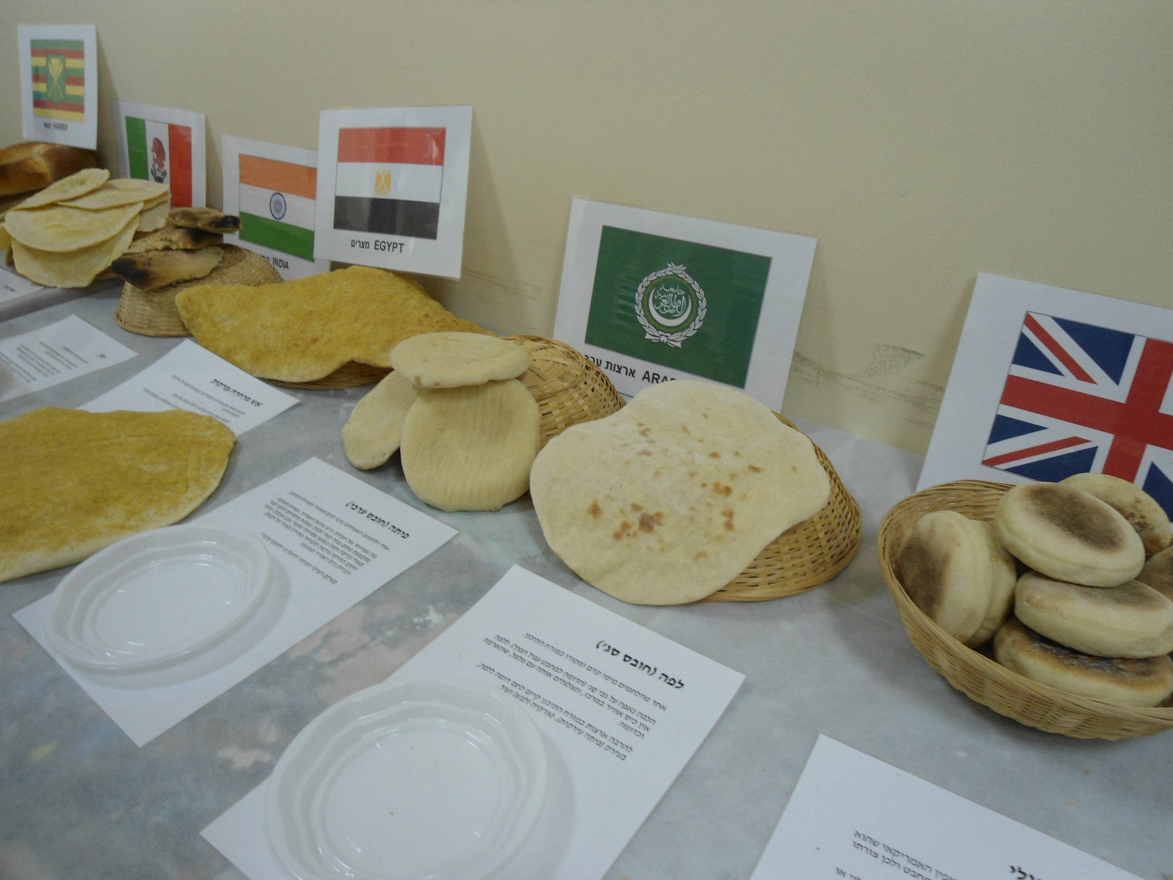 Flat Breads From Around The World