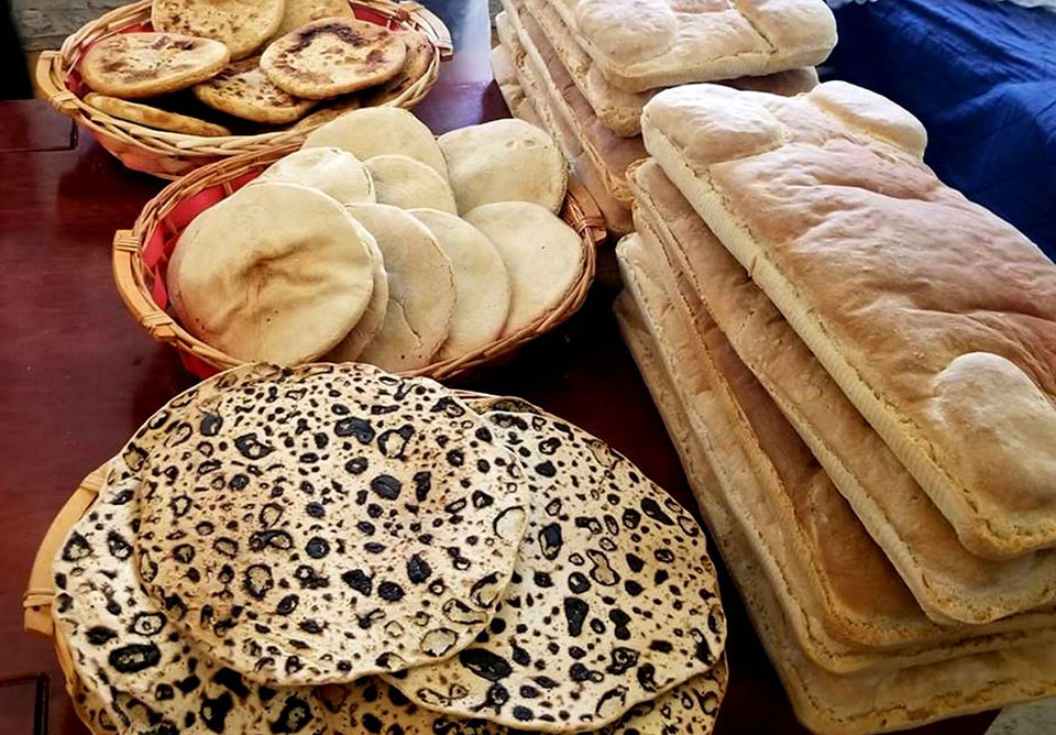 Breads of the Beit Hamikdash